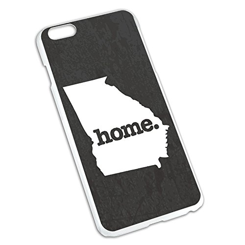 Georgia GA Home State Slim Fit Case for Apple iPhone 6 6s Plus (FITS PLUS MODEL ONLY) - Textured Dark Grey Gray