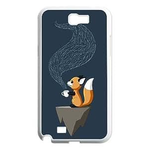 High Quality {YUXUAN-LARA CASE}Foxy Fairy Animal Fox For Samsung Galaxy Note 2 STYLE-13