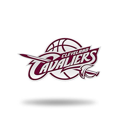 Rico Industries NBA Cleveland Cavaliers Team Color Auto Emblem 3D Sticker