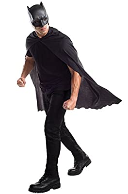 Rubie's Costume Co. Men's V Superman: Dawn of Justice Batman Cape with Mask