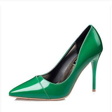 Rose 5 ggx Noir A Polyuréthane Arrière green à 9 5 7 Chaussures Vert LvYuan Printemps Femme Talons Décontracté Bride Arrière cm A Bride à a1qnfd