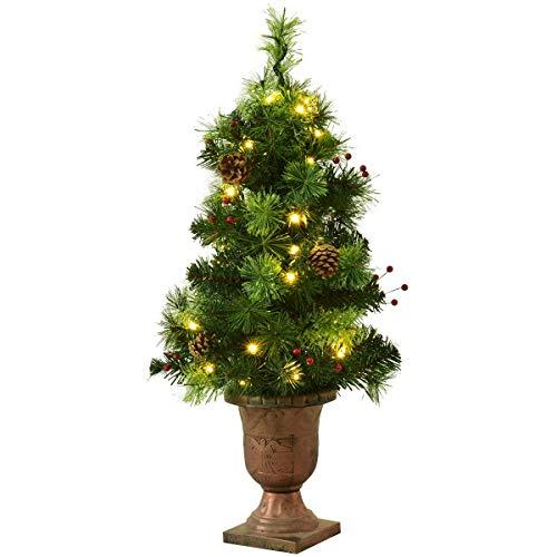 Goplus 3 FT Christmas Tree Pre-Lit Tabletop