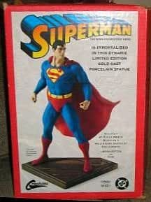Superman Randy Bowen Seinfeld Statue Limited Edition Figure