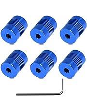 Usongshine 4er Pack Flexible Kupplungen 5mm bis 5 mm NEMA 17-Schaft für 3D-Drucker/CNC-Maschine