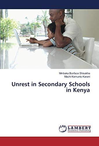 Download Unrest in Secondary Schools in Kenya ebook