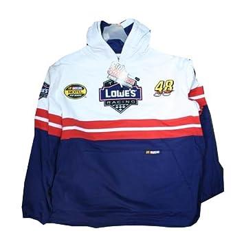 Jimmie Johnson # 48 Lowes Racing Nascar Nextel Cup sudadera con capucha para hombre, tamaño mediano: Amazon.es: Deportes y aire libre