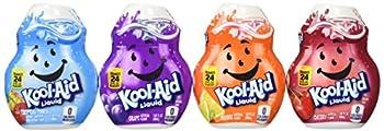 Kool-aid Liquid Drink Mix 4 Pack (Cherry, Grape, Orange, and Tropical Punch)