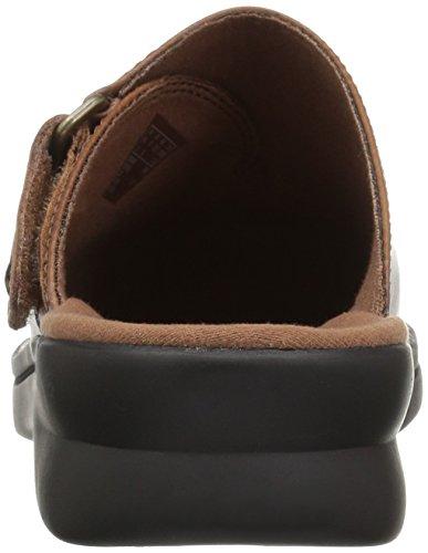 Bronceado Clarks Zapatillas Mujer Nell Mule para Patty Cuero Oscuro qxfF6B