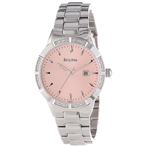 Bulova Women's 96R175 Diamond-Set Case Watch