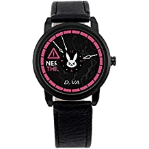 OW D.VA Casual Fashion Design Wirst Watch With PU Leather (DVA)