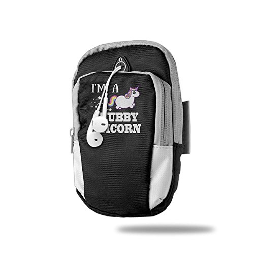Sports Armband, I'm A Chubby Unicorn Sweatproof Running Armbag For IPhone X 8 Plus 7 6s Plus 6 Plus/Sumsung Galaxy Note 8 - Dance Date Day Ideas