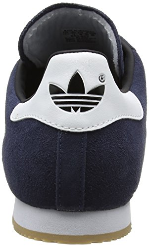 Runbla navy Adidas Uomo Sam Multicolore Super Sneaker Suede rw1w0UYq