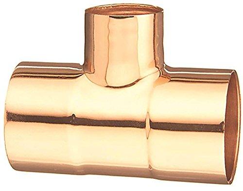 - Elkhart 32872 Wrot Copper Tee, 1-1/4