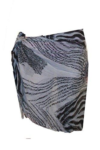 Raivar gris diseño de playa de diseño con dibujo de Thomas y wasserpfeifenversand diseño de piel de leopardo hacia arriba y para las mujeres