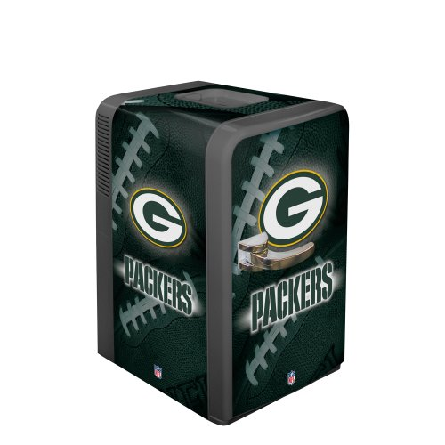 NFL Green Bay Packers Portable Party Fridge, 15 Quarts