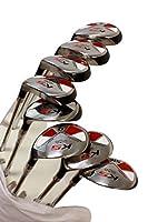 "Senior Men's Majek Golf All Hybrid Complete Full Set, which includes: #4, 5, 6, 7, 8, 9, PW +SW Senior Flex Right Handed New Rescue Utility ""A"" Flex Club"
