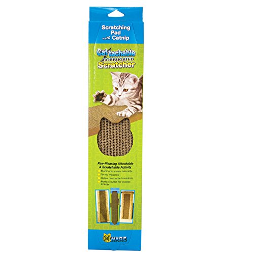 - Ware Manufacturing Cattachment Corrugated Cardboard Cat Scratcher