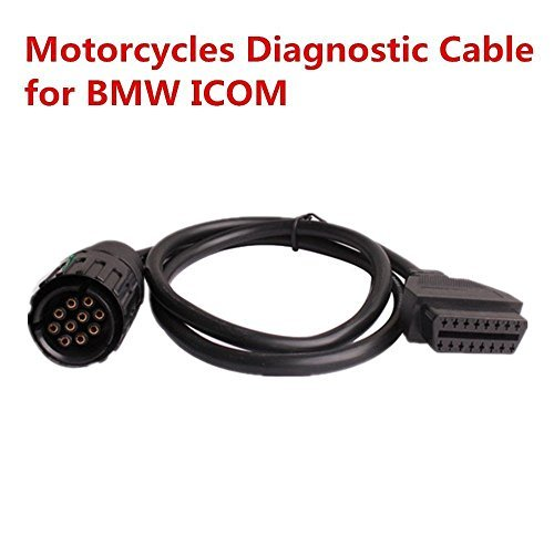OBD2 Diagnostic Cable For BMW ICOM D Module Cable 10pin OBD adapter for BMW Motorcycles Diagnostic Cable Tools work with BMW ICOM or BMW ICOM A2 A3