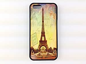 Iphone 5, Iphone 5s Eiffel Tower Post Card Case, the City of Lights in France. Free Screen Protector!
