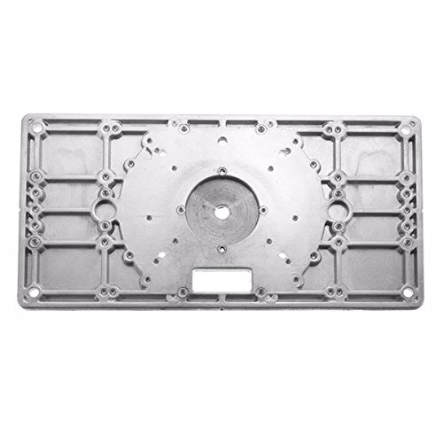 Esportsmjj 235mm x 120mm x 8mm aluminum router table insert plate esportsmjj 235mm x 120mm x 8mm aluminum router table insert plate for woodworking amazon kitchen home keyboard keysfo Image collections