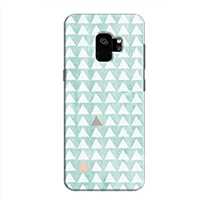 Cover It Up - Odd Hills Blue Galaxy S9 Hard Case