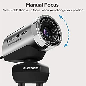 AUSDOM AW615 Best Webcam Review List