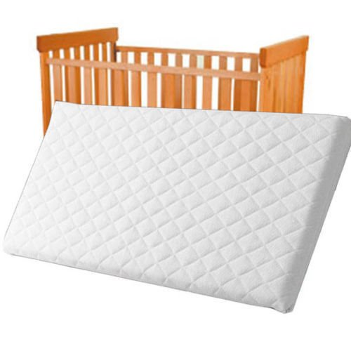 Baby Travel Cot Mattress 120 x 60 x 10 CM QUILTED Breathable Antiallergenic - UK Made - ATM-Baby Brand … TOPSTYLE COLLECTION