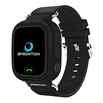 Brigmton BWATCH-Kids SmartWatch GPS Negro: Amazon.es ...