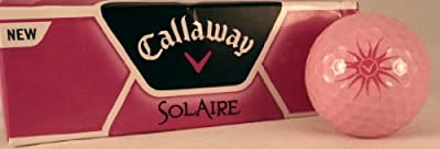 Callaway Solaire Ladies Golf Balls (6 ball pack)
