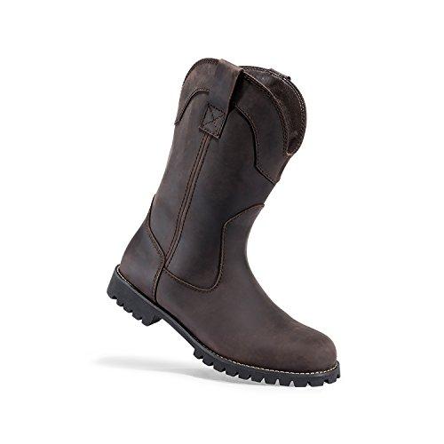 (Browning Mens Watson Plain Toe Wellington Leather Boots, Bracken/Bracken, 9M, F000006820130)