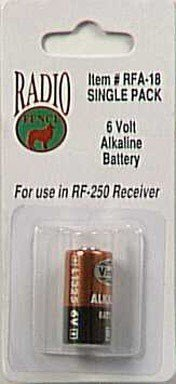 Pet Safe 6 Volt Alkaline Battery 6 V Carded