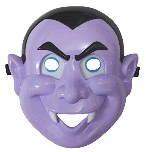 Petitebella Halloween Purple Vampire Mask Dress Up Costume