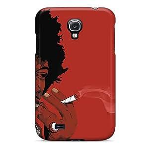 SherriFakhry Samsung Galaxy S4 Protector Hard Phone Covers Custom Nice Jimi Hendrix Pattern [VaS17924PzDL]
