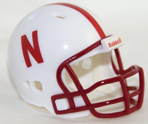 NEBRASKA CORNHUSKERS Riddell Revolution POCKET PRO Mini Football Helmet ()