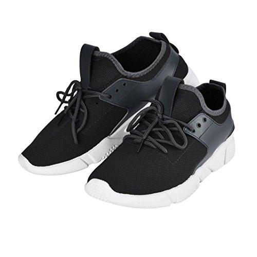 Casuale Moda Scarpe Scarpe Uomini Traspiranti Ginnastica Grigio Sneakers Sportive BeautyTop da Sneakerboots Sneakers Nuovo Uomo Bordo vYwdTpTq