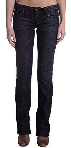 People's Liberation Women's Starburst Straight Leg Jean, Dark Wash, 25 x 35 (Liberation Peoples Jeans)