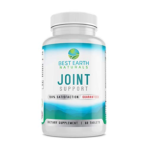 Joint Support- Glucosamine, Chondroitin, MSM & Special Vitamins & Nutrients for Back, Hip & Joint Support -Top Rated Supplement for Healthy Joints, Muscle Mobility & Flexibility- Best Earth Naturals (Best Rated Glucosamine Chondroitin Msm)