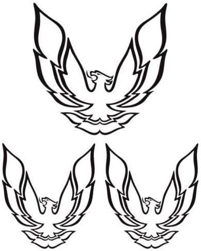 UUSticker - Juego de 3 Pegatinas para pájaros Pontiac Firebird ...