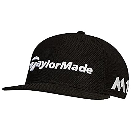 Amazon.com   TaylorMade Golf 2017 tour new era 9fifty hat black ... 8b406e5ef08