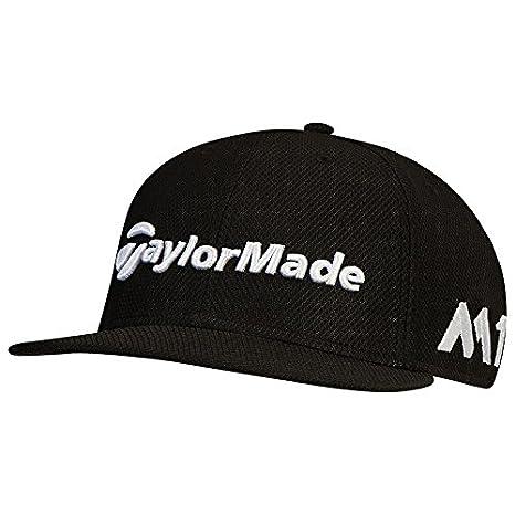 Amazon.com   TaylorMade Golf 2017 tour new era 9fifty hat black ... 3696b6a8f19