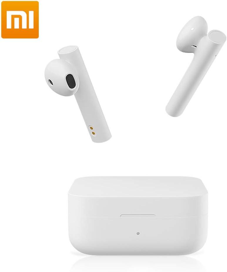 Xiaomi Auriculares inalámbrico Bluetooth, Xiaomi Air 2 SE AirDots Cascos auriculares inalámbricos Bluetooth Auriculares inalámbricos Mi auriculares Control de Enlace sincrónico táctil