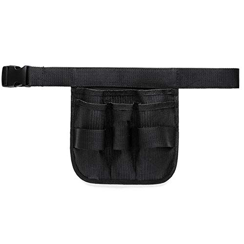 SqsYqz Gardening Tools Belt Bags Garden Waist Bag Hanging Pouch Garden Tool Belt (Black) Kit Canvas Cleaner Cleaning Bag Cleaning Kit