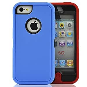 HP DF The Three Protective Sleeve Case for iPhone5C , Red