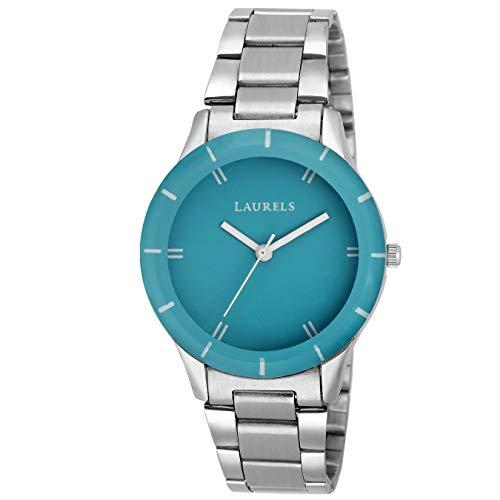 Laurels Lo colors 141407 Analog Blue Dial Women #39;s Watch Lo Colors 141407