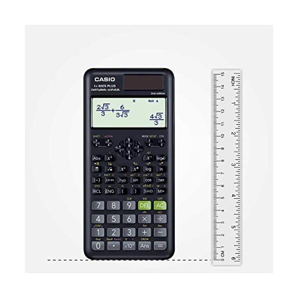 Casio FX-82ES Plus 2nd Edition - Non-Programmable Scientific Calculator, 252 Functions 5