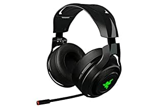 Razer ManO'War Wireless 7.1 Surround Sound Gaming Headset Compatible with PC, Mac, Steam Link and works with Playstation 4