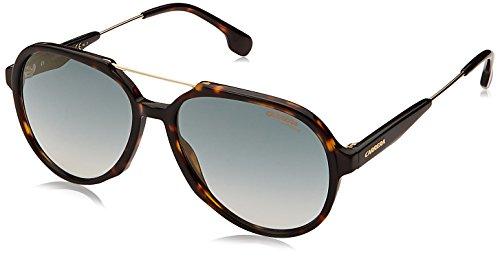 Carrera 1012/s Aviator Sunglasses, Dark Havana, 16 mm (Havana Carrera)