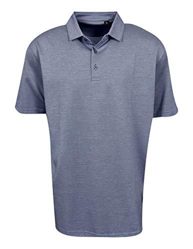 Jack Nicklaus Golf 2-Color Birdseye Polo Black Label (Jack Nicklaus Golden Bear Golf Clubs Review)