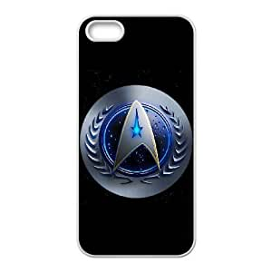STAR TREK funda iPhone LOGO 4 4s funda del teléfono celular de cubierta blanca, el funda iPhone 4 4s casos funda blanca