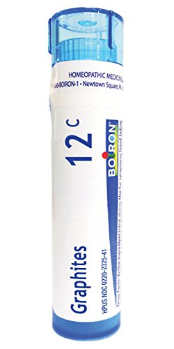 (Boiron Graphites 12C, 80 Pellets, Homeopathic Medicine for Scars)